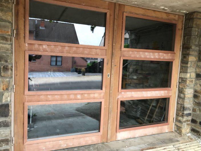 Réalisation de porte en bois sur mesure