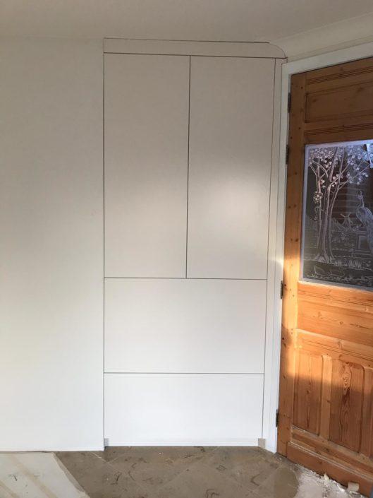 Réalisation espace de rangement en bois sur mesure