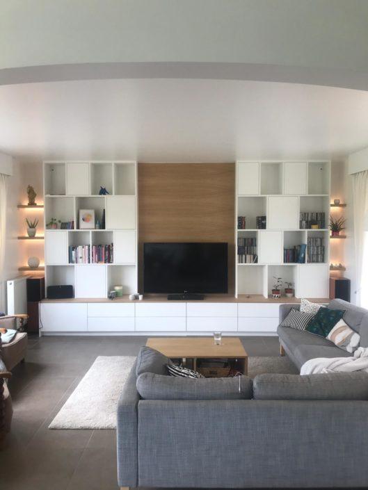Réalisation de mobilier en bois d'intérieur